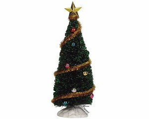 Lemax Village Collection Sparkling Green Christmas Tree Medium 6 inch # 04493