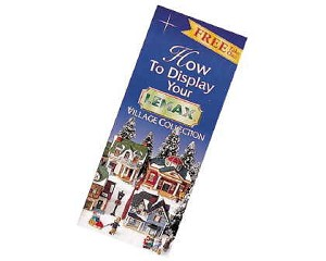 Lemax Village Collection How To Display Brochure # 11001