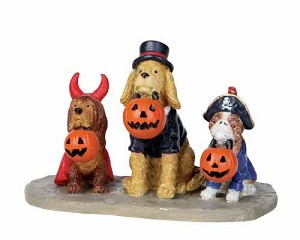 Lemax Spooky Town Trick Or Dog Treats # 12887