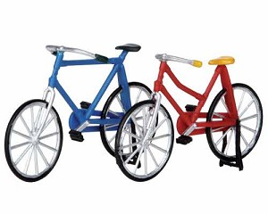 Lemax Village Collection Bicycles Set of 2 (Self-Stand) # 14377