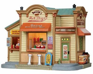 Lemax Village Collection Herzog's Hot Dogs # 15255