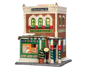 Lemax Village Collection Cadieux Bakery # 15268