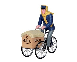 Lemax Village Collection Mail Delivery Cycle # 22054