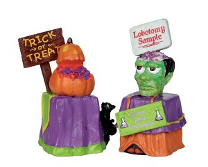 Lemax Spooky Town Trick Or Treat Container # 24465