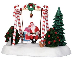 Lemax Village Collection Santa Swing Battery Operated # 24479