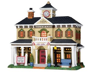 Lemax Village Collection Hartford Falls Town Hall # 25352