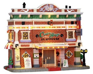 Lemax Village Collection Centre Stage Playhouse with Adaptor # 25363