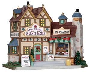 Lemax Village Collection Two Sisters Gourmet Bakery # 25386