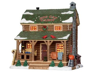 Lemax Village Collection Big Cat Cabin # 25389