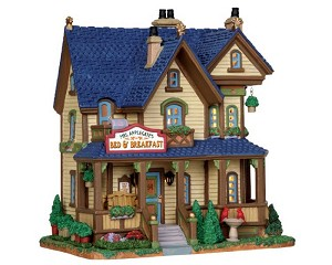 Lemax Village Collection Mrs. Applegate's B and B # 25394