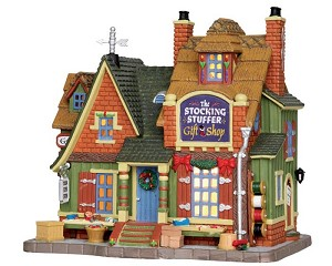 Lemax Village Collection The Stocking Stuffer Gift Shop # 25416