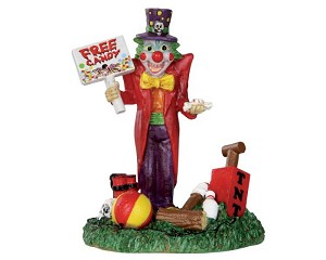 Lemax Spooky Town Free Candy Clown # 32102