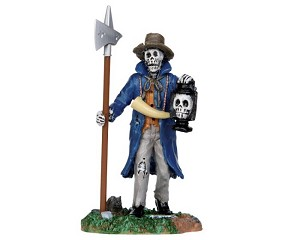 Lemax Spooky Town Creepy Night Watchman # 32108