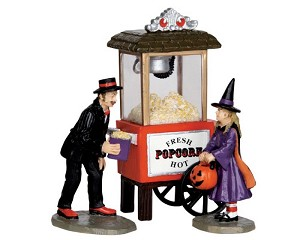 Lemax Spooky Town Popcorn Treats Set of 3 # 32112