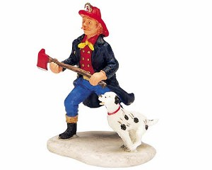 Lemax Village Collection Fireman # 32751