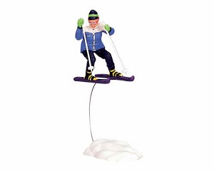 Lemax Village Collection Skiing Girl # 32771
