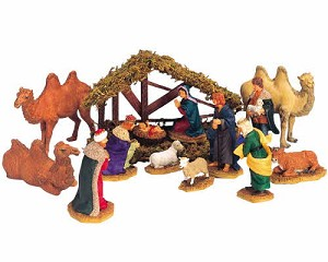 Lemax Village Collection Nativity Set of 14 # 33410