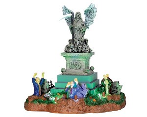 Lemax Spooky Town Angel Of Death Battery Operated # 34603