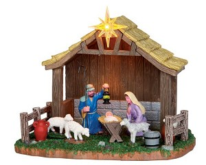 Lemax Village Collection Nativity Scene Battery Operated # 34626