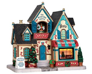 Lemax Village Collection The Music Box Shoppe # 35506