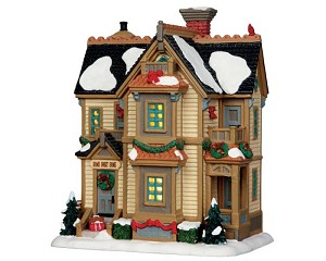 **NO OUTER BOX** Lemax Village Collection Home For Christmas Residence # 35511 **READ DESCRIPTION**