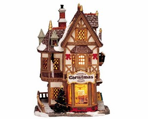 Lemax Village Collection Tannenbaum Christmas Shoppe # 35845