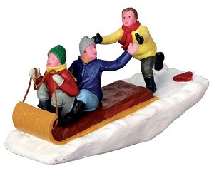 Lemax Village Collection Toboggan Trouble # 42248
