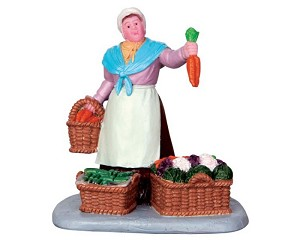Lemax Village Collection Vegetable Vendor # 42249