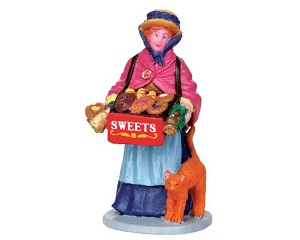 Lemax Village Collection Sweet Seller # 42254
