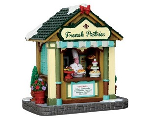 Lemax Village Collection French Pastries Stand # 43101