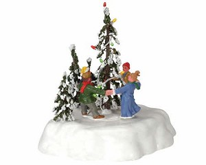 Lemax Village Collection Merry Christmas Tree # 44190