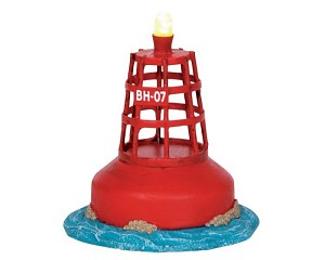 Lemax Village Collection Harbor Buoy Battery Operated # 44752