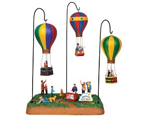 Lemax Village Collection Sky-High Park with Adaptor # 44763
