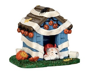 Lemax Spooky Town Tricked Out Doghouse # 44778