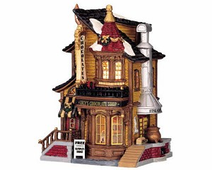 Lemax Village Collection Lucy's Chocolate Shop # 45052