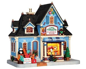 Lemax Village Collection Little Treasures Classic Toys # 45705