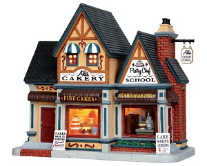 **NO OUTER BOX** Lemax Village Collection Ana's Cakery # 45716 **READ DESCRIPTION**