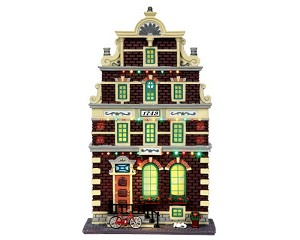 Lemax Village Collection Mr. Van Halen Facade Battery Operated # 45731