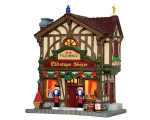 Lemax Village Collection Fezziwig's Christmas Shoppe # 45742
