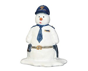 Lemax Village Collection Officer Snowflake # 52369