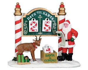Lemax Village Collection Christmas Countdown # 53208