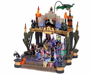Lemax Spooky Town Monsters Ball with Adaptor # 54302