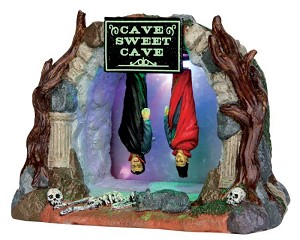 Lemax Spooky Town Cave Sweet Cave Battery Operated # 54904