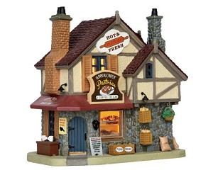 Lemax Village Collection Upper Crust Pastries and Coffee Cellar # 55928