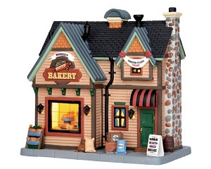 Lemax Village Collection Bonnie's Bread Bakery # 55934