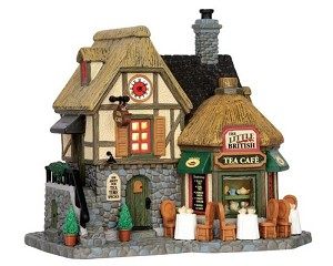 Lemax Village Collection The Little British Tea Cafe # 55952