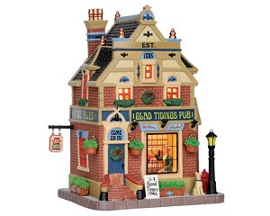 Lemax Village Collection Glad Tidings Pub # 55956
