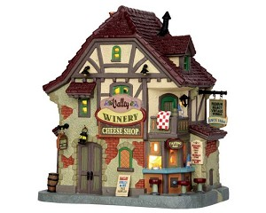 **NO OUTER BOX** Lemax Village Collection Valley Winery Cheese Shop # 55971 **READ DESCRIPTION**