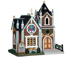 Lemax Village Collection Pine Ridge Church # 55973