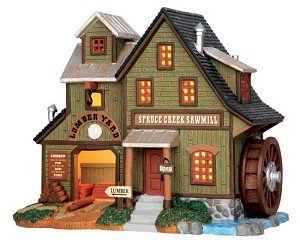 Lemax Village Collection Spruce Creek Sawmill # 55974